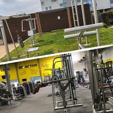 Prostorné, dvoupodlažní fitness, nově i s venkovní zónou!